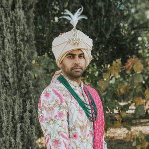 Extravagant Designer Bespoke Sherwani! Get married in style!!